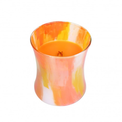 Wood Wick Candle, Summer Sweets, Sparkling Orange, Medium Hourglass