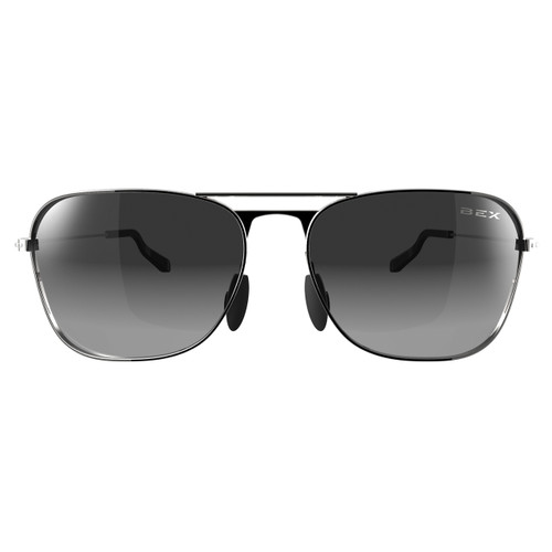 Bex Sunglasses, Silver/Gray Ranger