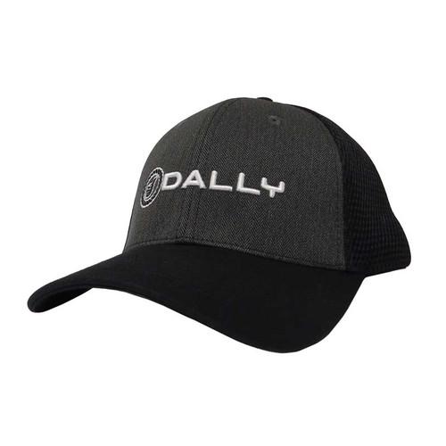 Men's Dally Up Cap, Black, Text Logo, Snapback