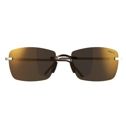 Bex Sunglasses, Copper Frame, Amber Lens, Fynnland