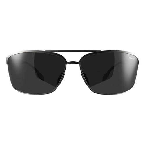 Bex Sunglasses, Silver Frame, Gray Lens, Shuyk