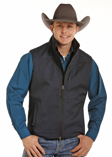 Men's Tuf Cooper Vest, Navy Blue