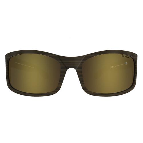 Bex Sunglasses, Tortoise Frame with Gold Lens, Ghavert II