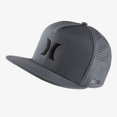Men's Hurley Cap, Gray Mesh
