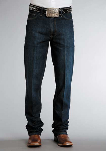 Men's Stetson Jeans, Dark Wash