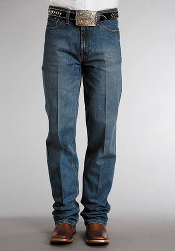 Men's Stetson Jeans, Medium Wash