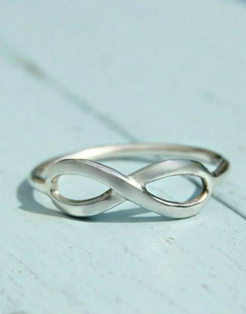 Elegant Infinity ring a sign of never ending love