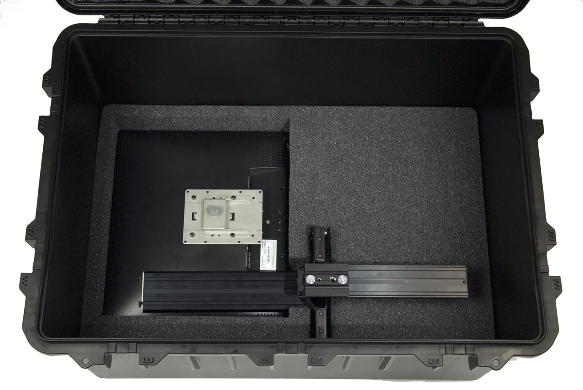 CASE-HS3075 - Heavy Duty Teleprompter Hardcase, Not Configured - PrompterPeople - Sled and Monitor