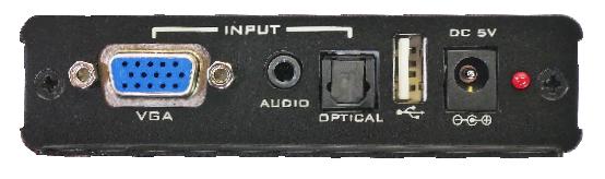 Prompter People VGA Reversing Box VGA-REV Inputs A