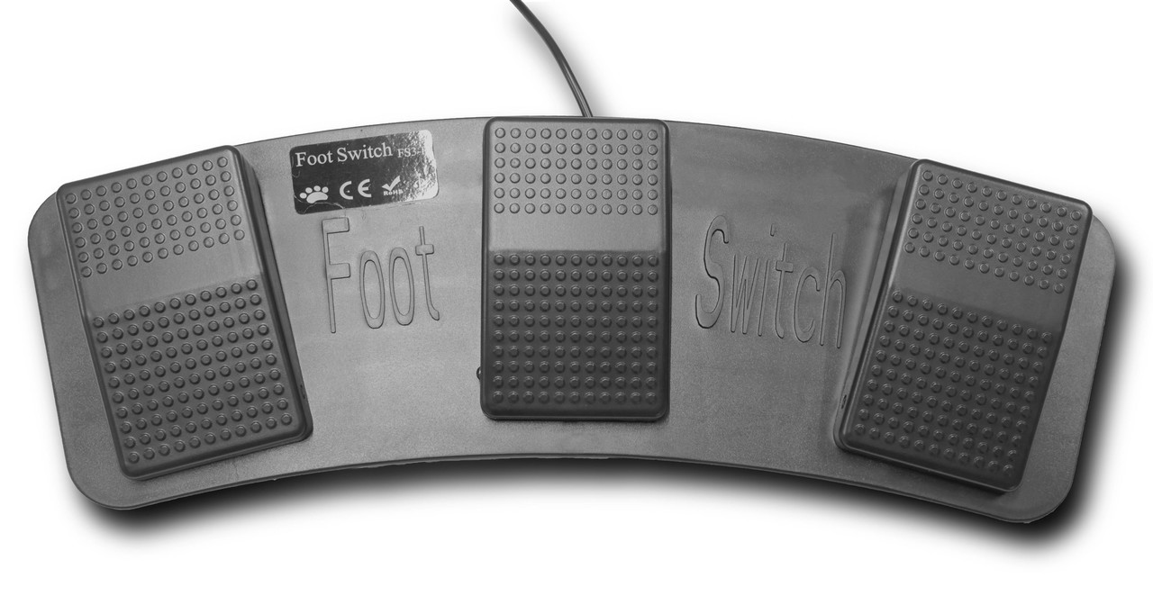 PrompterPeople Flip-Q Foot Pedal  - Top