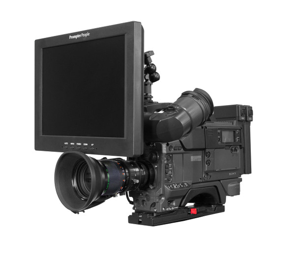 ULOC12 - 12 inch Over the Camera Teleprompter Prompter People, Affordable and Reliable