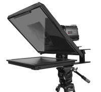 Q-Gear Pro Large Camera Teleprompter Angled