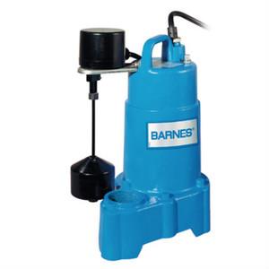 Barnes SP33VF 1/3 HP 3450 RPM 115 volt Sump Pump