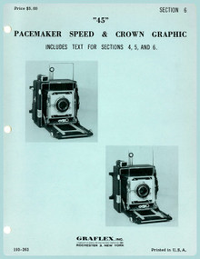 "SECTION 6 - ""45"" Pacemaker Speed & Crown Graphic Cameras - Free Download"