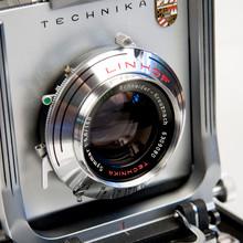 Schneider-Kreuznach Symmar 1:5,6 / 150mm Large Format Lens in Linhof Synchro-Compur Shutter mounted on Linhof Technika III Lens Board