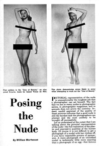Posing the Nude by William Mortenson - Photography Handbook No. 12 - Free Download