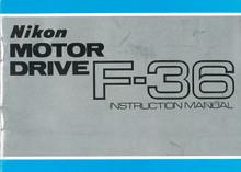 Nikon Motor Drive F36 Instruction Manual - Free Download