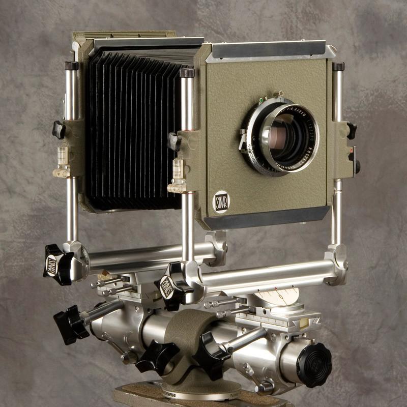 Chambre 4x5: 4x5 Sinar Norma Monorail Camera