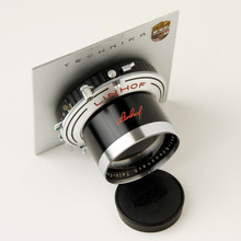 Schneider-Kreuznach Tele-Xenar 1:5,5 / 240mm Large Format Lens in Linhof Synchro-Compur Shutter mounted on Linhof Technika III Lens Board