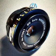 45mm GN Auto NIKKOR Lens f/2.8 Nippon Kogaku, Japan