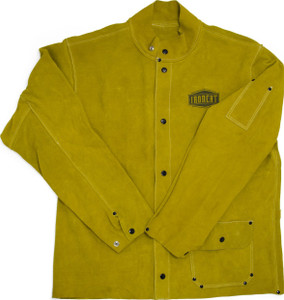 Medium West Chester IronCat 7005 Heat Resistant Split Cowhide Leather Welding Jacket