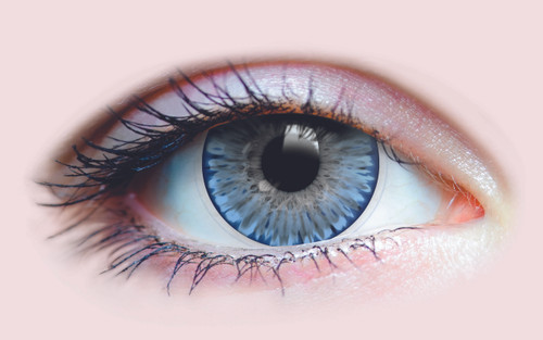 Crystalline Azure Contact Lenses