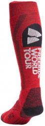 Teko Freeride World Tour Series Ski Socks: Medium Cushion All Mountain Model