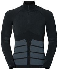 Odlo Evolution Warm Turtle Neck 1/2 Zip - Men