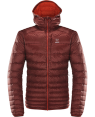 ESSENS III DOWN HOOD MEN - DARK RUBY / HABANERO