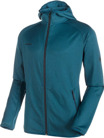 Mammut Go Far ML Hooded Jacket Men Orion melange