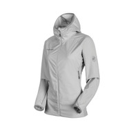 Mammut Keiko Light SO Hooded Jacket Women: marble - dark marble