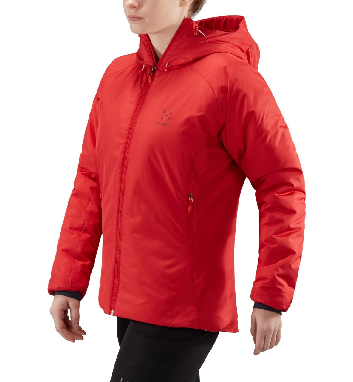haglofs barrier hood women | women's insulated jacket