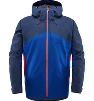 haglofs niva insulated jacket men | ski jacket | tarn blue / cobalt blue
