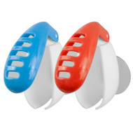 Anti-bacterial toothbrush covers with air vents and suction cups