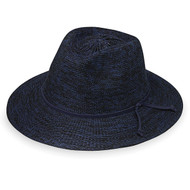 Victoria Fedora in Navy