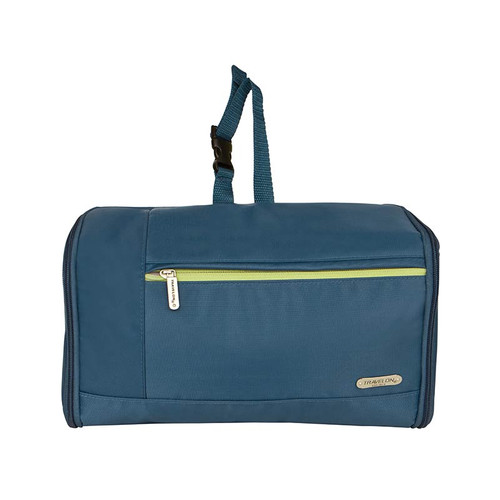 Flat Out Hanging Toiletry Kit in blue