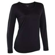 Thermasilk Pointelle Scoop Neck