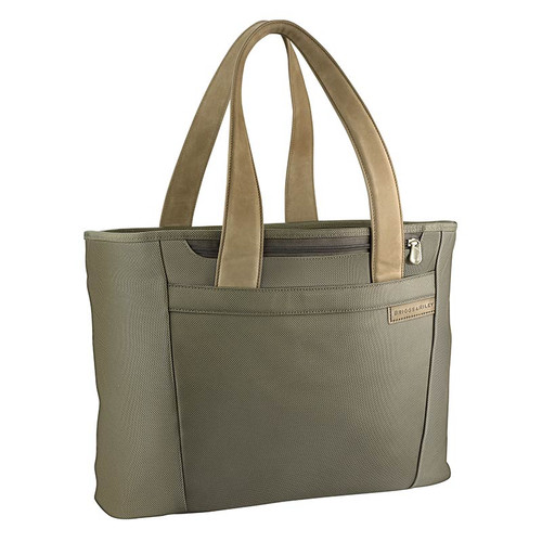 Baseline large shopping tote in olive