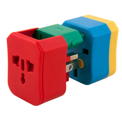 4-In-1 Electrical Adapter - exploded view