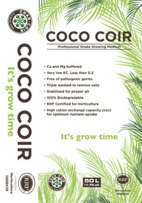 CoCo Coir Professional grade growing medium. Coco Coir is an RHP certified for horticulture growing medium made from coconut fiber. Here at CharCoir we believe in delivering only the best quality products. Coco Coir has received RHP certification from Holland. This assures our customers that coco coir is made using the highest standards in the industry. Enjoy! For more info on RHP certification please visit www.rhp.nl/en/professional