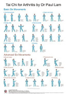 Tai Chi for Arthritis Wall Chart