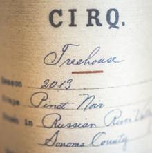 2013 CIRQ Pinot Noir Treehouse Vineyard