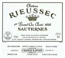 1999 Chateau Rieussec