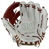 Mizuno 11.5 inch MVP Prime SE3 Baseball Glove GMVP1154PSE3 (Silver-Brown, Right Hand Throw)