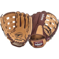 Nokona BB-1275H Buckaroo (Sandstone/Chocolate Kangaroo) Baseball Glove H Web (Right Handed Throw)