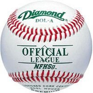 Diamond Bucket with (5 doz) DOL-A Offical League Baseballs