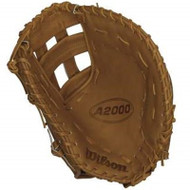 Wilson A2000 First Base Mitt BB1883 Tan 12 inch (Left Handed Throw)