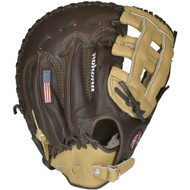 Nokona BB-1250H Buckaroo (Sandstone/Chocolate Kangaroo) First Base Mitt