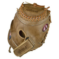 Nokona Banana Tan Fastpich 32.5 Fast Pitch Catchers Mitt (Right Handed Throw)