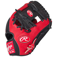 Rawlings Heart of the Hide Red Black Baseball Glove 11.5 inch PRO202SB